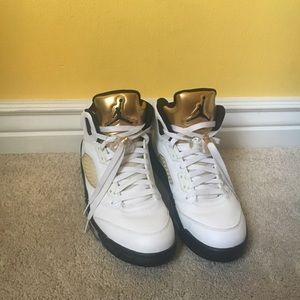 Air Jordan retro 5 OLYMPIC GOLD